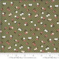 Moda Fabric - Folktale - Lella Boutique - Posie Gathering Olive #5123 15