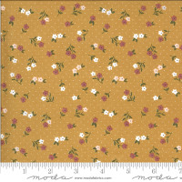 Moda Fabric - Folktale - Lella Boutique - Posie Gathering Golden #5123 16