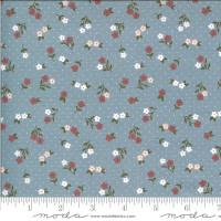 Moda Fabric - Folktale - Lella Boutique - Posie Gathering Sky #5123 17