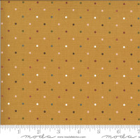 Moda Fabric - Folktale - Lella Boutique - Magic Dot Golden #5124 16