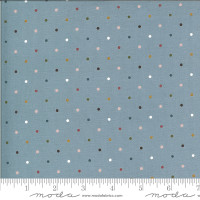 Moda Fabric - Folktale - Lella Boutique - Magic Dot Sky #5124 17