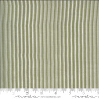Moda Fabric - Folktale - Lella Boutique - Skinny Stripes Olive #5125 15