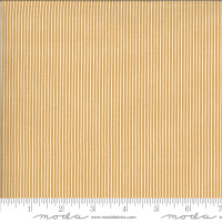 Moda Fabric - Folktale - Lella Boutique - Skinny Stripes Golden #5125 16