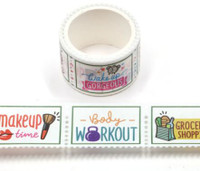 Washi Tape - Daily Tasks - Perforated Stamp