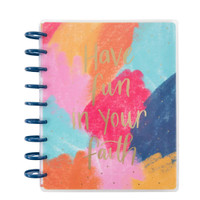 ***IMPERFECT***  The Happy Planner - Me and My Big Ideas - 2021 Fun Faith Classic Happy Planner - 12 Months (Dated, Faith)