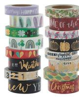 The Paper Studio - Seasons Washi Tape