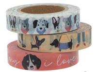 The Paper Studio - Puppy Love Washi Tape