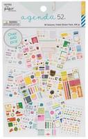 The Paper Studio - A5 Sticker Book - All Seasons Foil Stickers