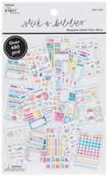 The Paper Studio - A5 Sticker Book - Marguerite