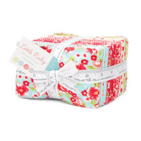 Moda Fabric Precuts - Little Ruby by Bonnie and Camille -  Fat Eighth Bundle