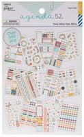 The Paper Studio - A5 Sticker Book - Floral Foil Stickers
