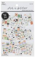 The Paper Studio - A5 Sticker Book - Botanical