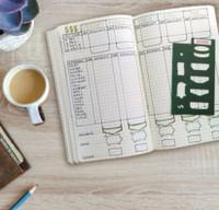 MoxieDori - Budget Finance Bullet Journal Stencil