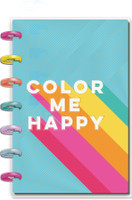 The Happy Planner - Me and My Big Ideas - Mini Happy Planner - Color Me Happy - 12 Months (Dated, Vertical)