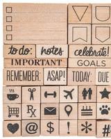 Stampabilities - Planner Rubber Stamps - Planning Essentials