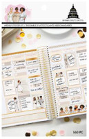 Craft Smith - Capitol Chic Designs - Sticker Book - Neutrals Weekly Layout
