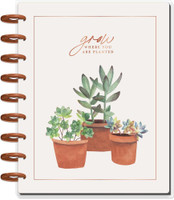 The Happy Planner - Me and My Big Ideas - Classic Happy Planner - Sweet Succulents - 12 Months (Undated, Vertical)