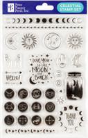 Peter Pauper Press - Celestial Clear Stamp Set
