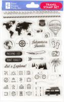 Peter Pauper Press - Travel Clear Stamp Set