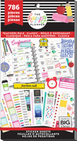Me and My Big Ideas - The Happy Planner - Value Pack Stickers - Teachers Rule - Classic Teacher (#786)