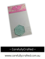 Sue Daley English Paper Piecing -  1/4 inch Hexagon - Template