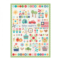 Riley Blake Designs - Lori Holt of Bee in my Bonnet - Bee Happy Quilt Puzzle