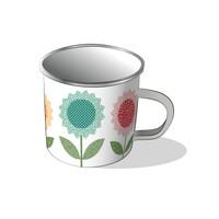 Riley Blake Designs - Lori Holt of Bee in my Bonnet - Flea Market Tin Mug
