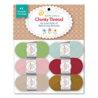 Riley Blake Designs - Lori Holt - Chunky Thread - Set of 6 (Set 4)