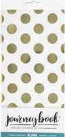 Paper House - Traveler's Notebook Inserts - Dots Gold - Standard (Dot Grid) - Set of 2