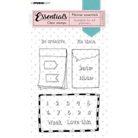 Studio Light - Essentials A6 Stamps - Planner