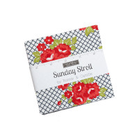 Moda Fabric Precuts Charm Pack - Sunday Stroll by Bonnie & Camille