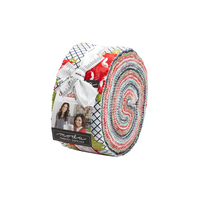 Moda Fabric Precuts Jelly Roll - Sunday Stroll by Bonnie & Camille