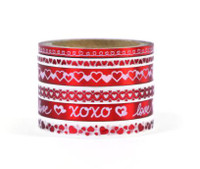 Recollections - Washi Tape - Red & White Valentine's Day