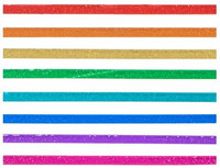 The Paper Studio - Bright Foil Washi Tape (3mm)