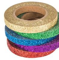 The Paper Studio - Bright Glitter Washi Tape (6mm)