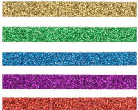The Paper Studio - Bright Glitter Washi Tape (6mm)