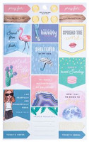 The Paper Studio - Sunday Funday Foiled Stickers