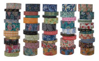 The Paper Studio - Floral Washi Tape - Set of 50
