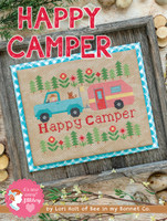 It's Sew Emma - Lori Holt of Bee in My Bonnet - Cross Stitch Pattern - Happy Camper