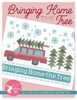 It's Sew Emma - Lori Holt of Bee in My Bonnet - Cross Stitch Pattern - Bringing Home The Tree