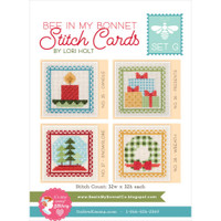 It's Sew Emma - Lori Holt of Bee in My Bonnet - Stitch Cards - Set of 4 (Set G)