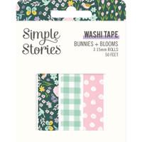 Carpe Diem - Simple Stories - Bunnies & Blooms Washi Tape - Set of 3