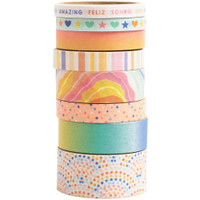 American Crafts - Obed Marshall - Buenos Dias - Washi Tape - Set of 8