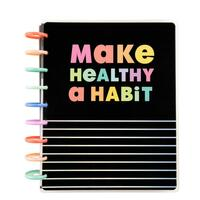 ***IMPERFECT*** The Happy Planner - Me and My Big Ideas - 2021 Healthy Habits Classic Happy Planner - 12 Months (Dated, Vertical - Fitness)