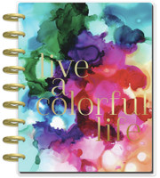 The Happy Planner - Me and My Big Ideas - Classic Happy Planner - Jewel Paint Splash - 12 Months (Undated, Dashboard)