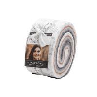 Moda Fabric Precuts Jelly Roll - Smoke & Rust by Lella Boutique