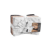 Moda Fabric Precuts - Fat Eighth Bundle - Smoke & Rust by Lella Boutique