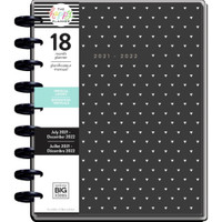The Happy Planner - Me and My Big Ideas - Classic Happy Planner - 2021-2022 Black & White - 18 Months (Dated, Vertical)