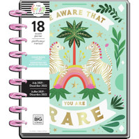 The Happy Planner - Me and My Big Ideas - Classic Happy Planner - 2021-2022 Jungle Vibe - 18 Months (Dated, Color Block Layout)