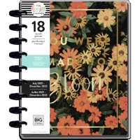 The Happy Planner - Me and My Big Ideas - Classic Happy Planner - 2021-2022 Moody Florals - 18 Months (Dated, Vertical)